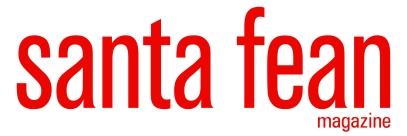 Santa Fean Logo Red